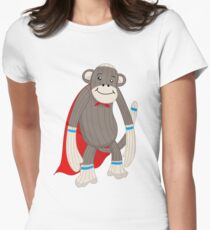 super sock Womens Fitted T-Shirt