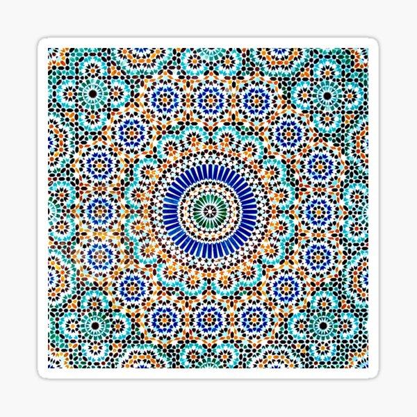 Persisches Keramikdesign 55 Sticker
