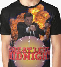 THREAT LEVEL MIDNIGHT POSTER Graphic T-Shirt