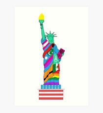 Liberty for All Art Print