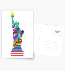 Freiheit für alle Postkarten