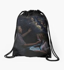 Look Up Drawstring Bag