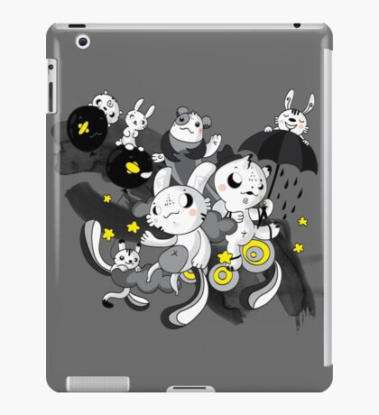 We're  singing in the rain iPad Case/Skin