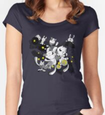 We're  singing in the rain Women's Fitted Scoop T-Shirt