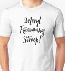 Meryl Streep. Slim Fit T-Shirt