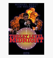 THREAT LEVEL MIDNIGHT POSTER Photographic Print
