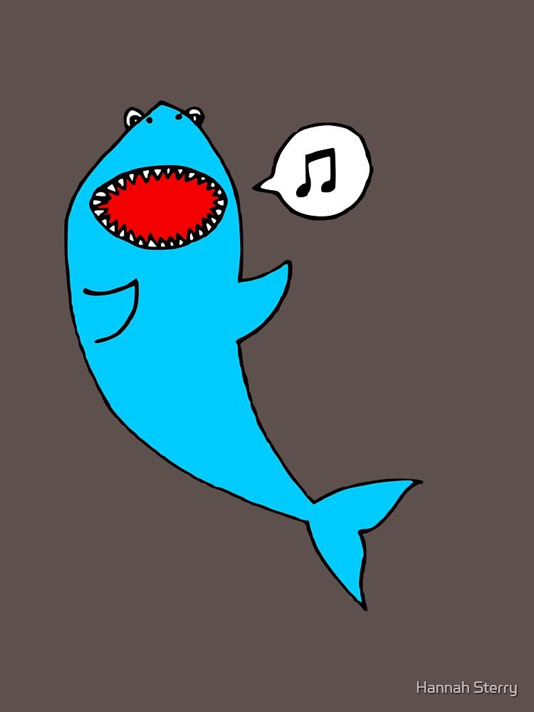 Singing Shark by HannahSterry