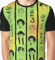 Culture Club 35 - Red, Gold & Green Graphic T-Shirt