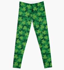 Seamless Clover Pattern Leggings