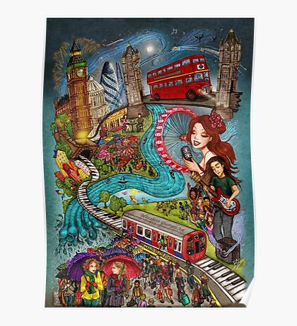 Sounds of London Poster