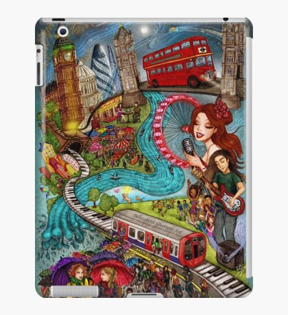 Sounds of London iPad Case/Skin