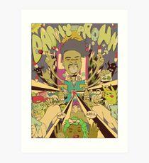 DANNY BROWN Kunstdruck