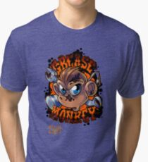 Grease Monkey Tri-blend T-Shirt