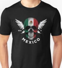 Mexican Flag Skull T-Shirt