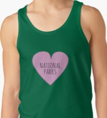 I Love National Parks Tank Top