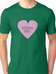 I Love National Parks T-Shirt