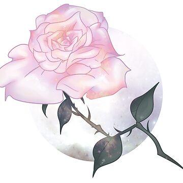 Galaxy Rose by mcrmorbid