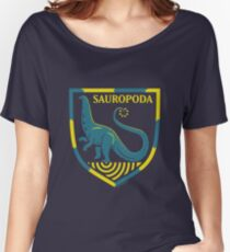 Sauropoda: Dinosaur Coat of Arms Women's Relaxed Fit T-Shirt