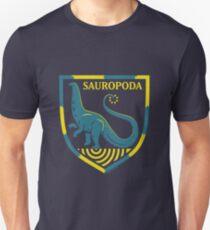 Sauropoda: Dinosaur Coat of Arms Unisex T-Shirt