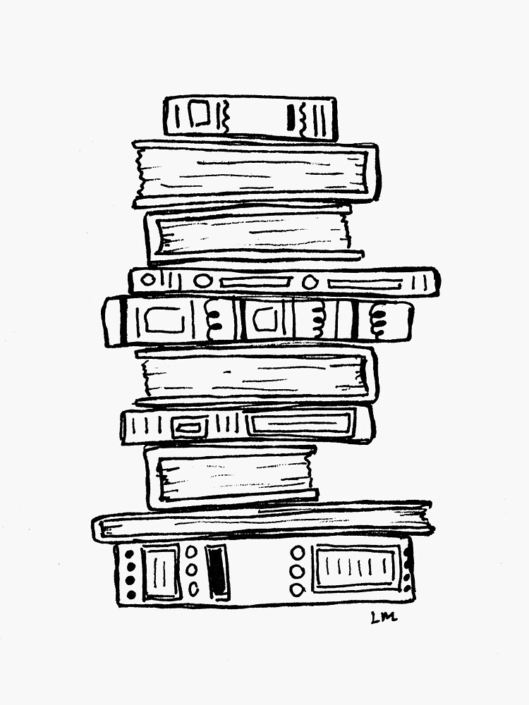 Stack of Books by lauramaxwell