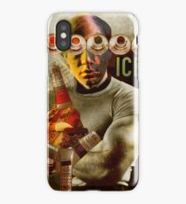 Andy Warhol with Christ Child 2. iPhone Case/Skin