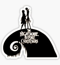 Jack and Sally - The Nightmare Before Christmas Sticker