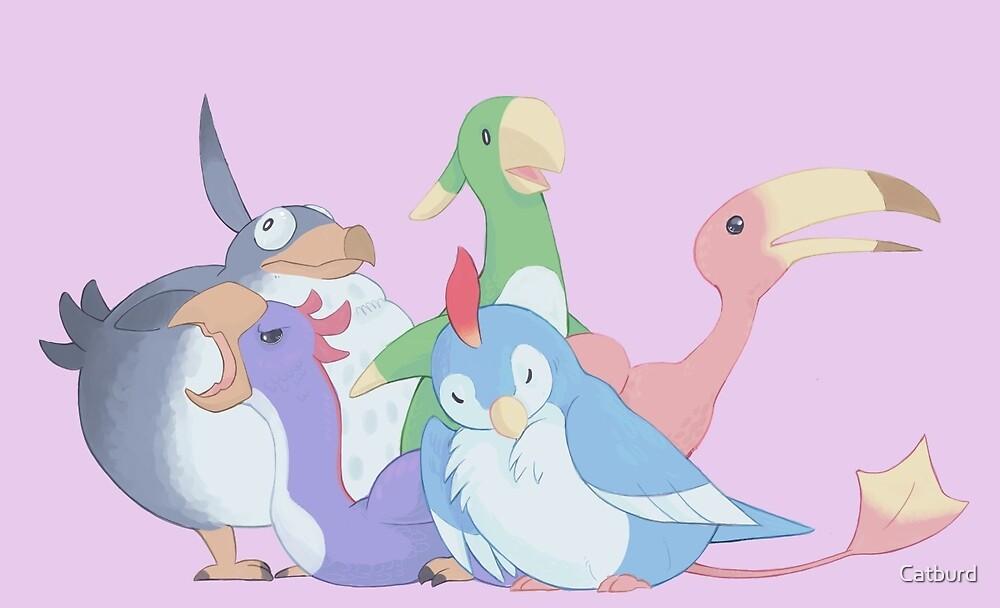 FFXIV Bird Squad