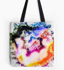 Digitally generated Multicoloured abstract pattern  Tote Bag