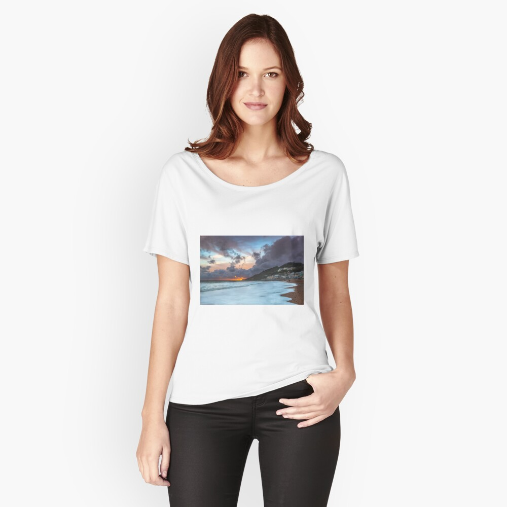 Ventnor Surfers Sunset Relaxed Fit T-Shirt