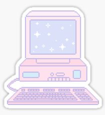 Kawaii computer Sticker