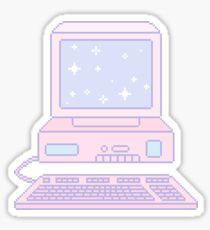 Kawaii computer Sticker