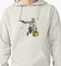 Daddy was a bank robber Pullover Hoodie