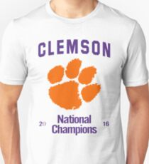 Clemson 2016 National Champions T-Shirt