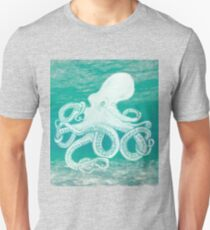 Colourful underwater octopus Unisex T-Shirt