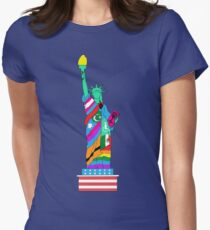Liberty for All Women's Fitted T-Shirt