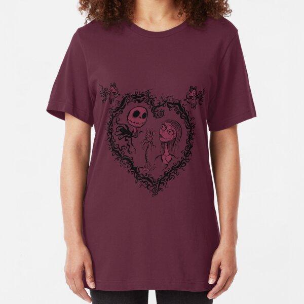 Nightmare Before Valentine's Day Slim Fit T-Shirt