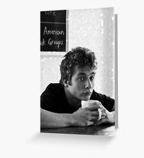 Coffee Lip Gallagher - Shameless US Greeting Card