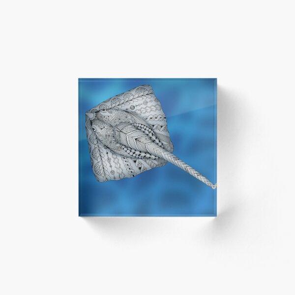 Stingray Acrylic Block