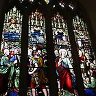 Church Window - Holy Trinity by kalaryder