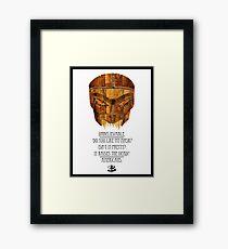 Buffy - Dead Man's Party Framed Print