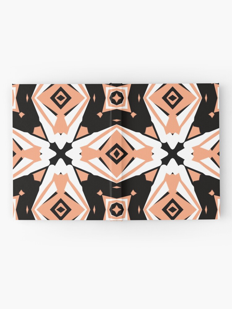 Alternate view of Peach and Black 2 by Julie Everhart Hardcover Journal