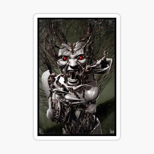 Cyberpunk Photography 007 Sticker