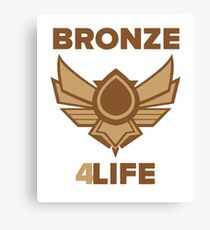 Bronze for life Canvas Print