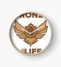 Bronze for life Clock