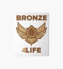 Bronze for life Art Board
