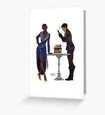 Viv and Cass Greeting Card