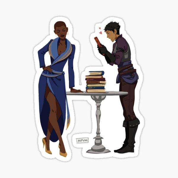 Viv and Cass Sticker