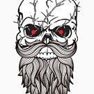 Hipster Skeleton by BeBad