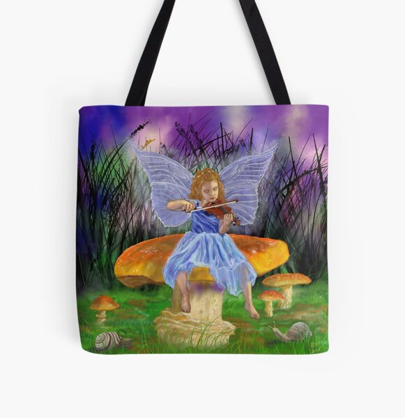 Snail Symphony  All Over Print Tote Bag