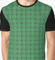 Green Figures Graphic T-Shirt